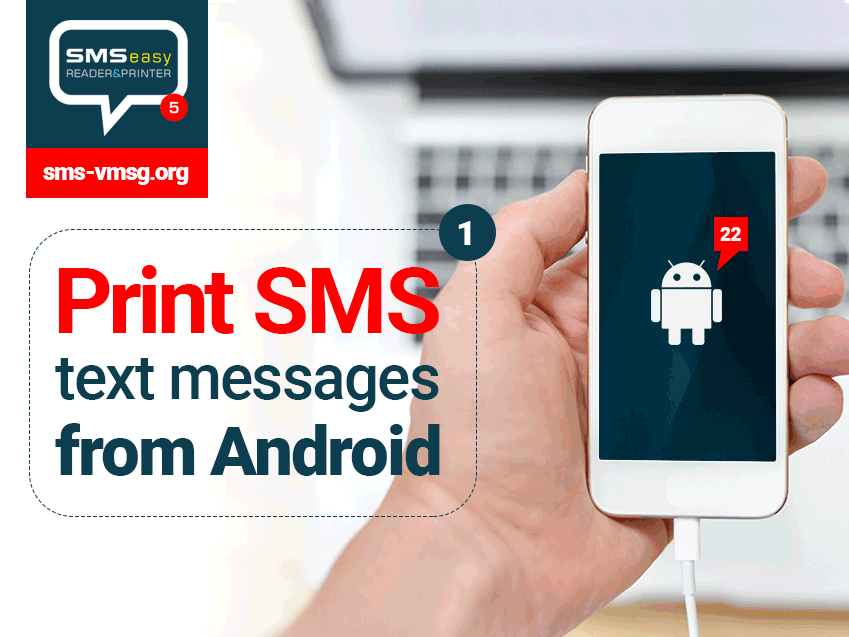 How to print SMS from Android