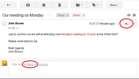 Gmail Keyboard Shortcuts