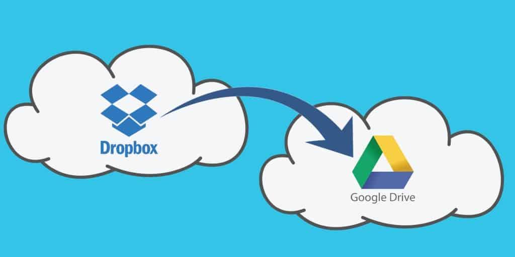 Sync Dropbox to Google Drive