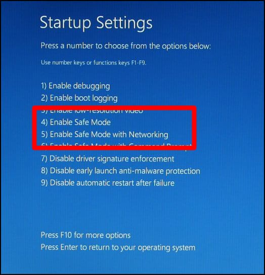 Safe Mode in Windows