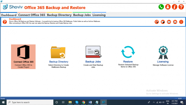 Backup Office 365 Emails
