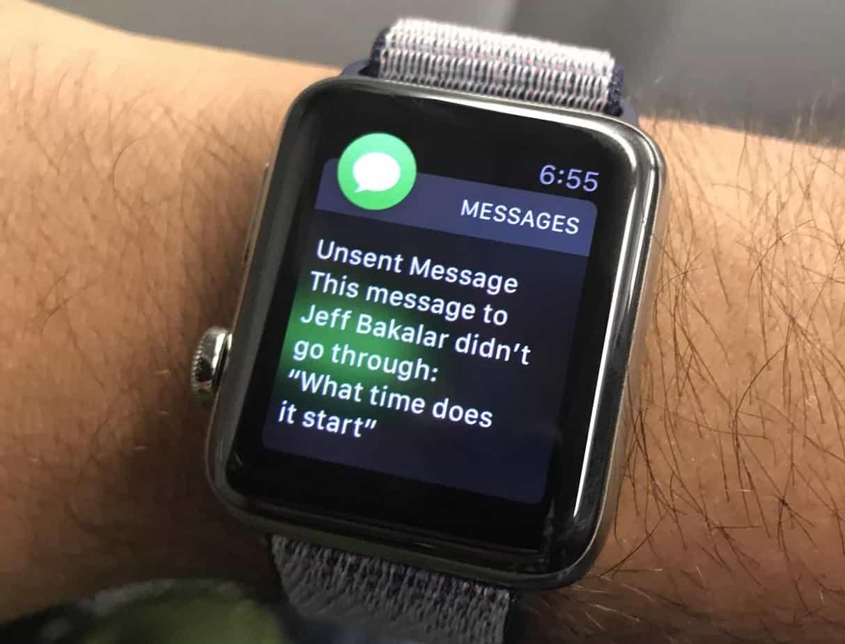 Replies on Apple Watch