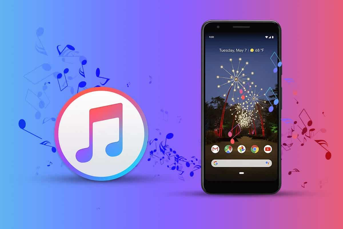 Music from iTunes to Android