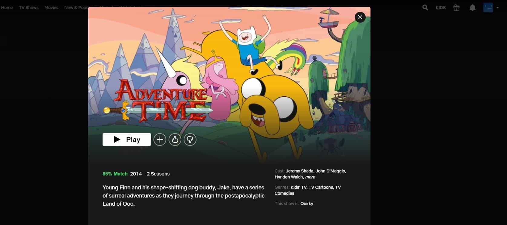 Is Adventure Time Available on Netflix
