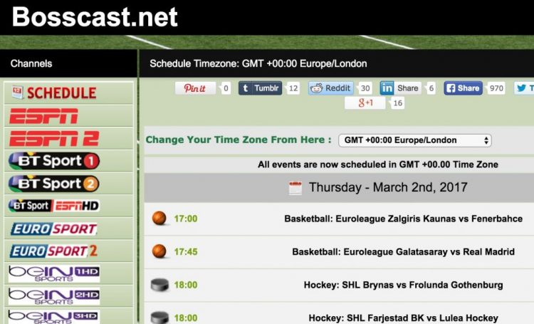 ATDHE Alternatives to Watch Free Sports Online
