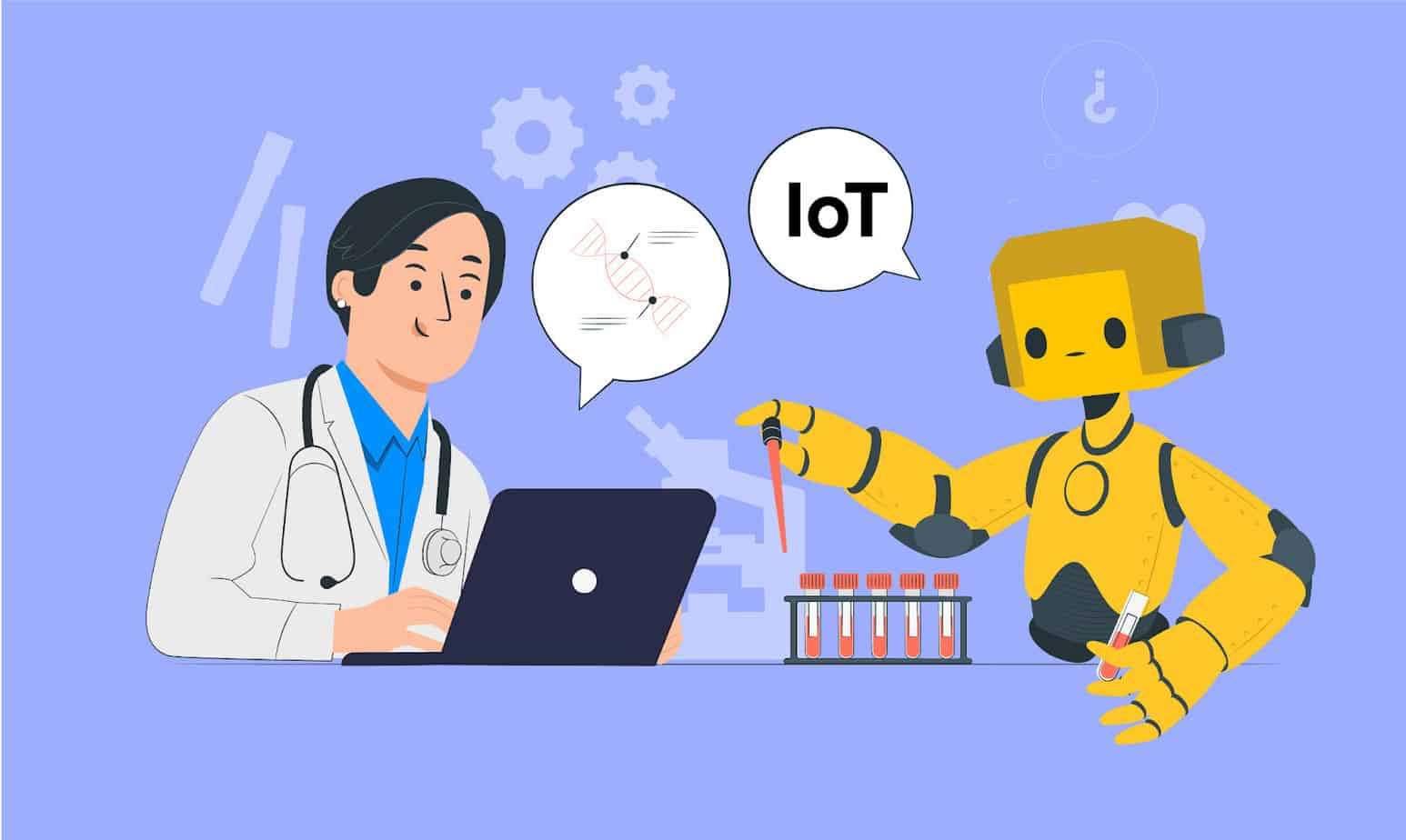 How AI and IoT are Improvising Healthcare Industry?