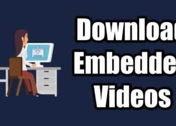 Download Embedded Videos From Websites