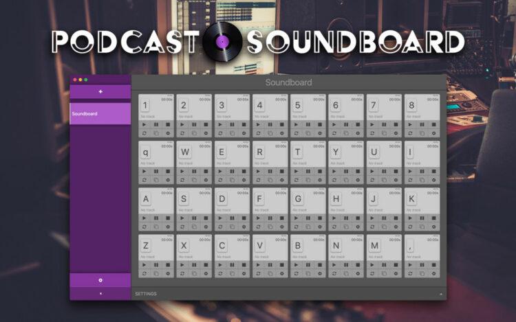 Podcast-Soundboard