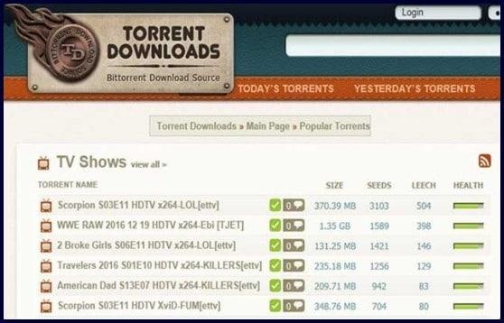 sites like Torrentdownloads.me