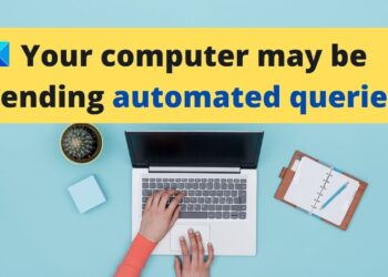 Computer Sending Automated Queries
