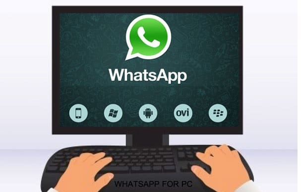 WhatsApp on PC using BlueStacks